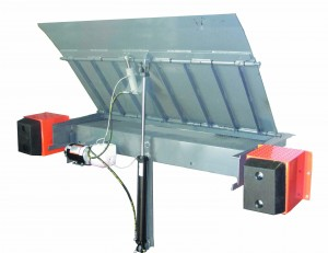 Hydraulic top dock Leveler